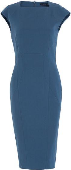 ELIE SAAB Cap Sleeve Dress