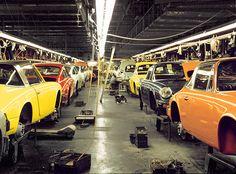 Porsche production hall