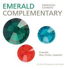 Emerald green color scheme