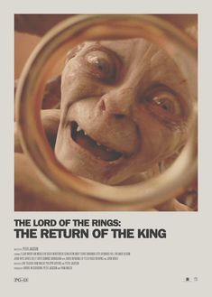 Lord of the Rings Minimal Movie Poster