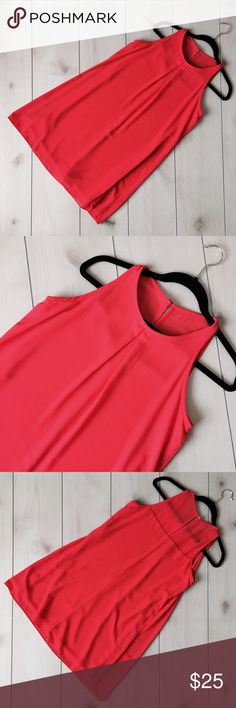 A-Line Poppy Dress This classy dress is absolutely stunning. With a bright poppy color like this, you will always slay. This dress is perfect for two types of women including slim but want curves and have curves but want slim. The flowy nature of this dress adds curves [and movement] where they are due & denotes curves where they are not wanted. It's flattering, comfortable & classy so you can be the most confident YOU. What else could you want? Like new. Worn 1x. Size medium. No flaws. By…