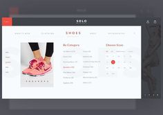 Detailed menu for fashion ecomerce  #ui #uidesign #uxdesign #site #website #interface #fashiondesigner #fashion #shoponline #onlineshop #shoes #webdesign #web #dribbble #solo #market  #flat #typography #concept #photoshop #art #Design #ecomerce #color #colorful #designer #flatdesign #illustrator #graphic #graphicdesign