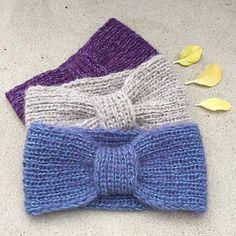 Baby Knitting Patterns Headband Ravelry: Missy Headband / Missing Stripe Pattern by Strikkelisa // . Easy Knitting Projects, Easy Knitting Patterns, Knitting For Beginners, Free Knitting, Baby Knitting, Crochet Patterns, Knitted Headband Free Pattern, Knitted Hats Kids, Kids Headbands