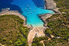 La caleta de Es Talaier, en Menorca (Islas Baleares).ÍS