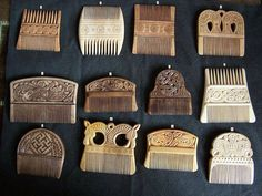 Viking combs.