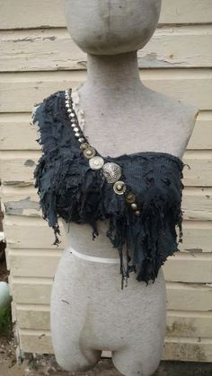 Siren's Bodice  burning man wasteland by ArchaicLeatherworks