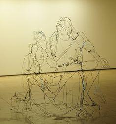 David Oliveira,pietá, 2012, 174cmX195cmX94cm