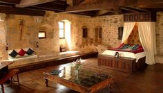 The Master Bedroom At Montbrun Castle It S For Sale