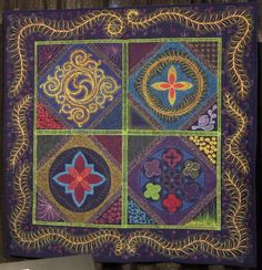 The Daily Blog TQS Zoom Quilt - Four Square by Tim Nash November 29, 2013