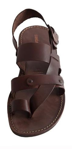 Man Sandal :-) - Men Sandals - Ideas of Men Sandals - Man Sandal Flat Sandals, Strap Sandals, Gladiator Sandals, Leather Sandals, Me Too Shoes, Shoe Boots, Shoes Sandals, Italian Sandals, Mocassins