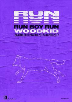 "playlistposters: ""Playlist-posters // Run boy run - Woodkid "" Typography Poster Design, Graphic Design Posters, Graphic Design Inspiration, Poster Layout, 3d Max Tutorial, Banners, Flyer, Grafik Design, Motion Design"