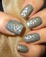 Wendy's Delights: Charlies Nail Art Stamping Plate QA21