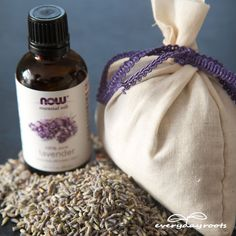 How to Make a Lavender Sleep Sachet- for a good night's rest.