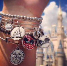 New Disney Alex and Ani Bangle Bracelets!! I WANT!!