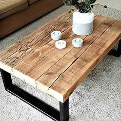 Massive Hand Made Wood Coffee Table Cpt2806-100 Color