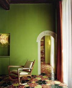 阿尔勒的豪尔赫帕尔多:美国画家和法国酒店•室内设计•设计•室内设计
