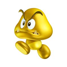 Gold Goomba - New Super Mario Bros. 2