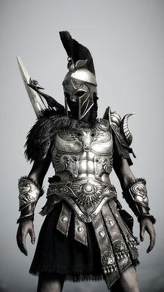 Fantasy Armor, Dark Fantasy Art, Panzer Tattoo, Nicki Larson, Tattoo Guerreiro, Gladiator Tattoo, Warrior Tattoos, Angel Warrior Tattoo, Spartan Tattoo