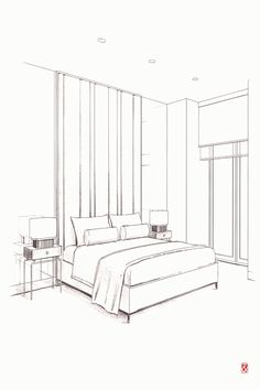 Interior Design For Bathroom Info: 8213034053 Interior Architecture Drawing, Interior Design Renderings, Drawing Interior, Interior Sketch, Room Interior Design, Architecture Design, Interior Mirrors, Classical Architecture, Perspective Room