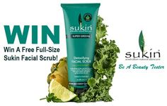 Win A Free Full-Size Sukin Facial Scrub