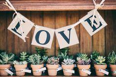 INSPIRAÇÃO: Ideias lindas para usar suculentas no seu casamento
