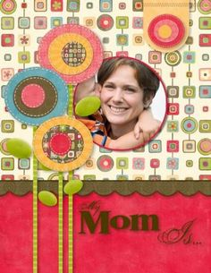 digi mothers day card
