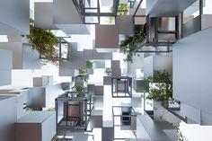 Many Small Cubes, Paris, 2014 - Sou Fujimoto Architects