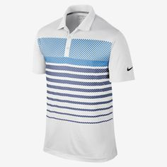Nike Sport Stripe Men's Golf Polo