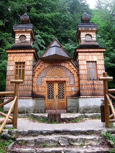 #This was an amazing  historical mark to visit:)  Russian Chapel on the Vršič Pass, Slovenia
