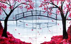 Paint Nite Minneapolis | Partner Painting at The Village Sports Bar **1 ticket equals 2 spots**