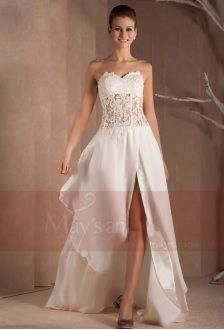 Robe de cocktail mariage civil