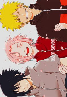 Uchiha Sasuke Haruno Sakura Uzumaki Naruto NarutoShippuden
