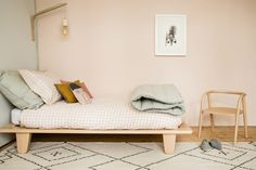 Fresh, clean and delicate. The perfect girls room. All available at www.camomile.london