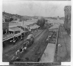 Main Street, Placerville, from the Cary House