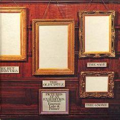 Emerson, Lake & Palmer - Pictures At An Exhibition. GRS says: This album is one of my Greatest Music Loves. I had it on vinyl, now I have it on CD. It's my personal favourite live album of all times. When I listen to it...ah, there are no words. Brilliant.
