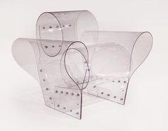 Ron Arad - Well Transparent Chair, 2010 Polycarbonate Edition of 100 Ron Arad, Funky Furniture, Unique Furniture, Contemporary Furniture, Furniture Design, Furniture Stores, Texture Sol, Muebles Art Deco, Transparent Design