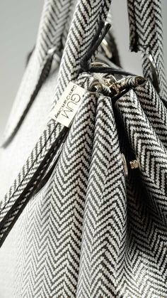 Gum by Gianni Chiarini - Herringbone printed mini tote
