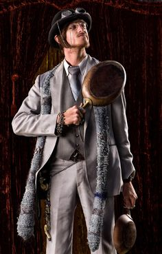 via AnniePottersville | www.airshipisabella.comwww.facebook.com/airshipisabella Male Steampunk, Male Outfits, Old West, Rogues, First World, Weird, Bring It On, Hipster, Facebook