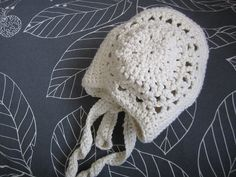Baby Bonnet by peixe-aranha, via Flickr