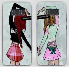 Best Friends Forever Bff Style Hard Case Coque Cover Fundas For All Phone Models