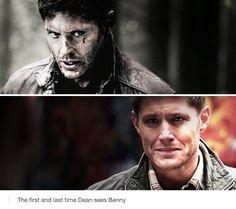 Supernatural fandom | Dean and Benny<<< I miss Benny so much...he was Dean's best friend