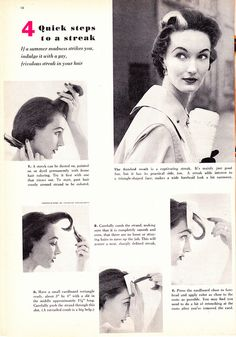 763 Best Hair Make Up Vintage And Otherwise Tutorials And
