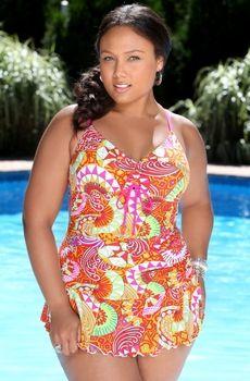 Women's Plus Size Swimwear - Santee Swim Dress