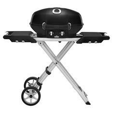 You'll be the envy of the barbecue with the Napoleon TravelQ PRO Series 285 Portable Gas Grill with Scissor Cart . This compact propane grill packs. Bbq Grill, Grilling, Portable Gas Bbq, Parrilla Exterior, Bbq Shop, Folding Cart, Gas And Charcoal Grill, Propane Gas Grill, Vestidos