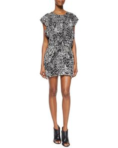 IRO Iro Cantela Ikat-Print Dress. #iro #cloth #