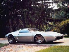 "Chevrolet Experimental Project 882 (XP-882) ""Aerovette"" concept car (1970)"