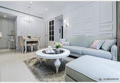 中華帝標_現代風設計個案—100裝潢網 Decor, Furniture, Dining, Sectional Couch, Dining Bench, Home Decor