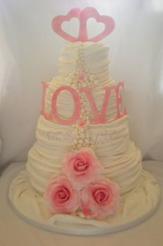 Wedding cakes vintage love 47 Ideas for 2019 Vintage Sweets, Vintage Love, Fancy Cakes, Pink Cakes, Crazy Cakes, Beautiful Cupcakes, Gorgeous Cakes, Occasion Cakes, Love Cake