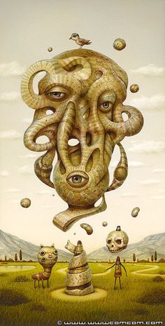 Spectacular Surrealistic Paintings by Naoto Hattori from Japan