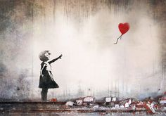 How can you not be in-love with Banksy's work...!?